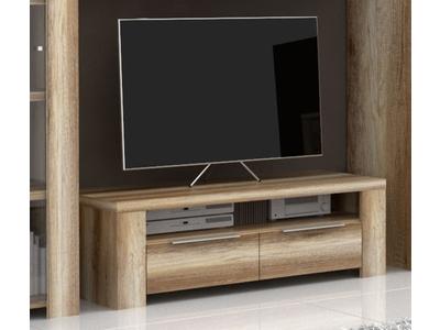 Meuble tv 2 tiroirs 1 niche