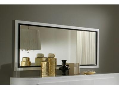 Miroir Tania laque blanc