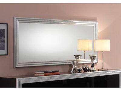 Miroir Silver laque bicolore
