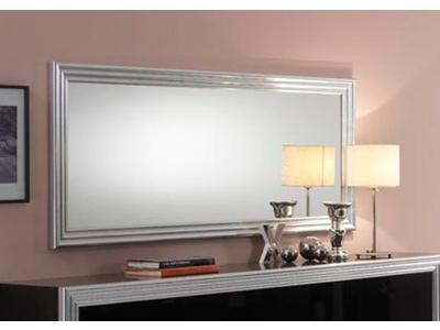 Miroir Silver laque noire