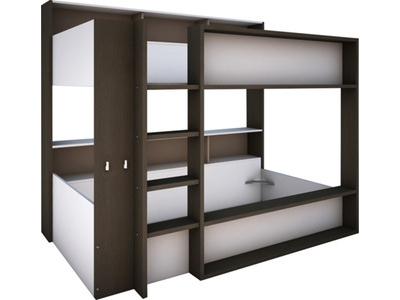 flower chambres chambres enfants lit blanc mauve basika le hard discount du meuble. Black Bedroom Furniture Sets. Home Design Ideas