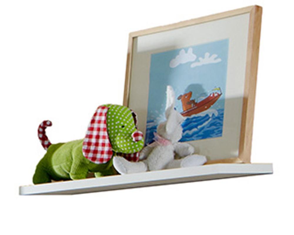 Etagere murale filou blanc for Etagere murale chambre enfant
