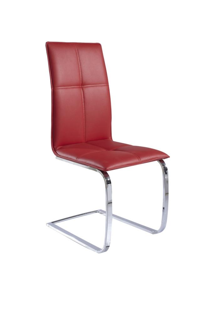 Lena sejours chaises de salle a manger chaise rouge for Meuble salle À manger avec chaise promotion