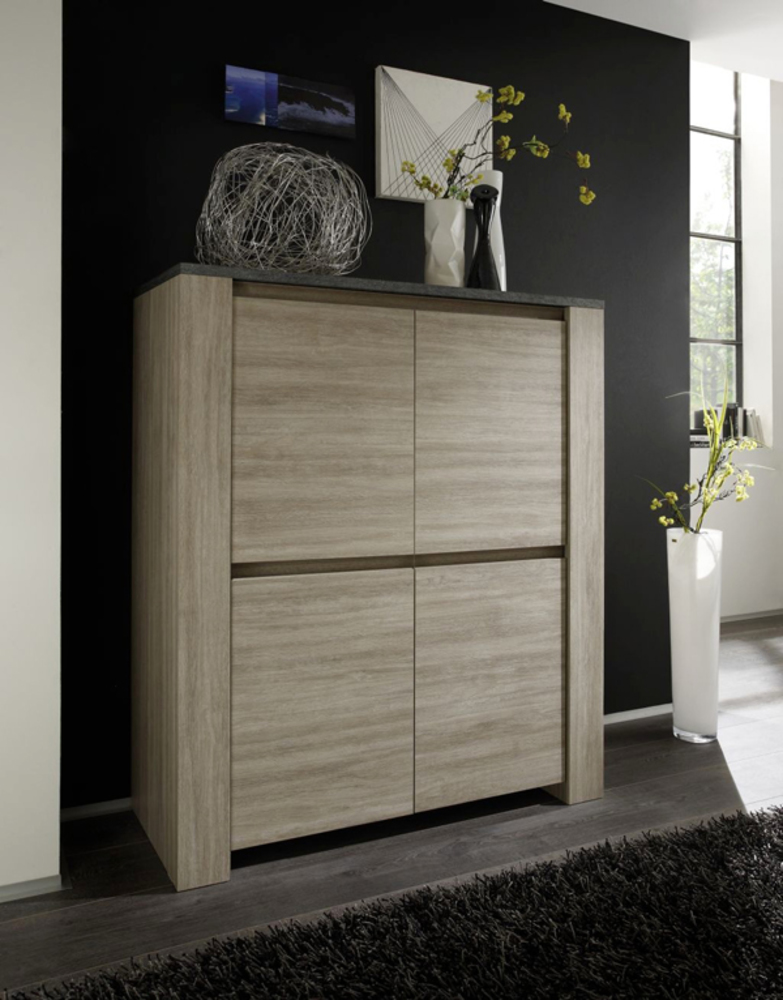 bar elba chene gris ardoise. Black Bedroom Furniture Sets. Home Design Ideas