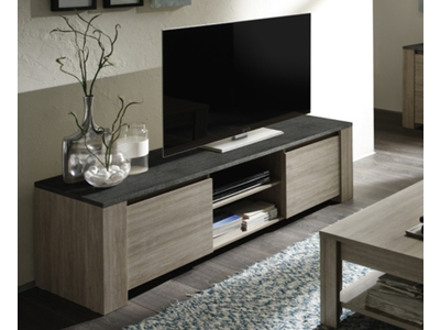Meuble tv 2 portes Elba