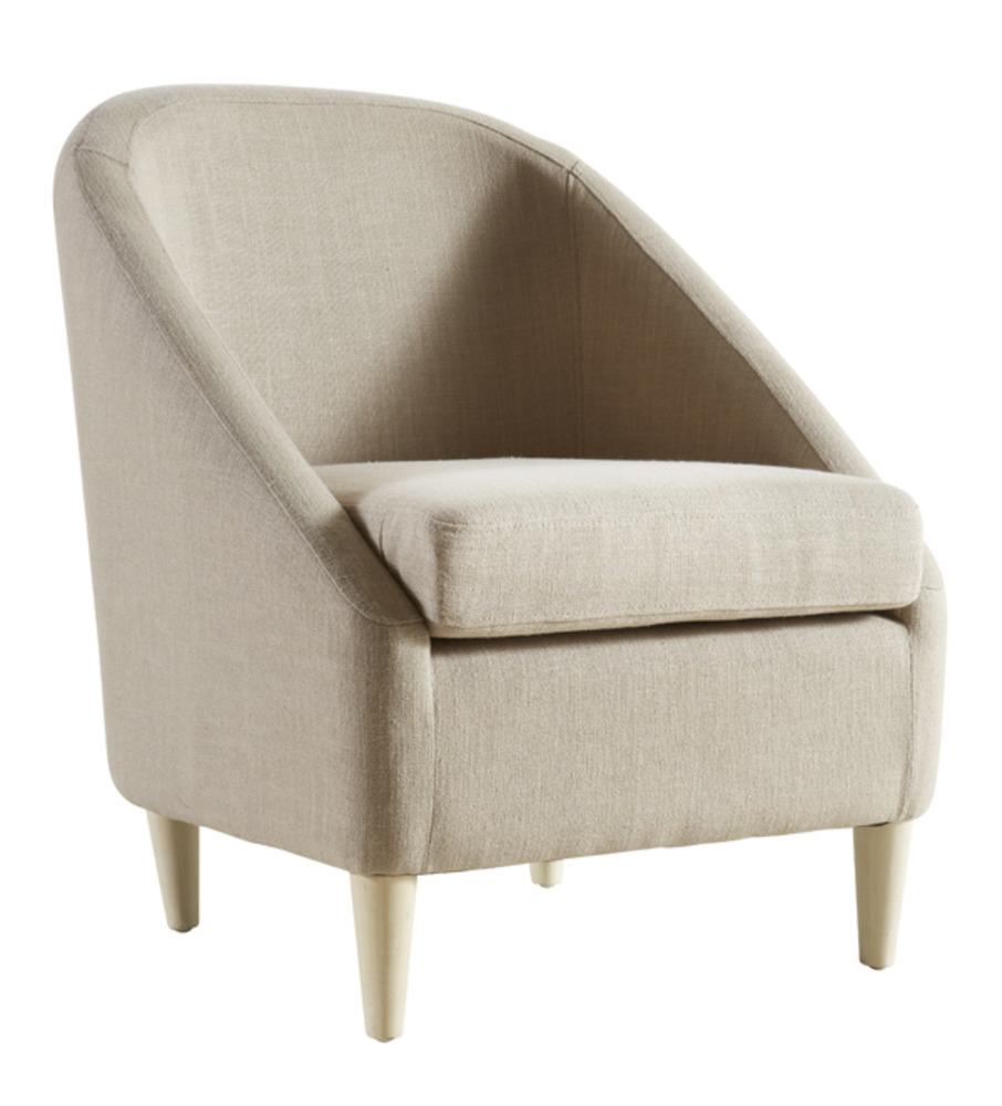 Mini cab salons fauteuils poufs fauteuil beige basika for Meuble fauteuil