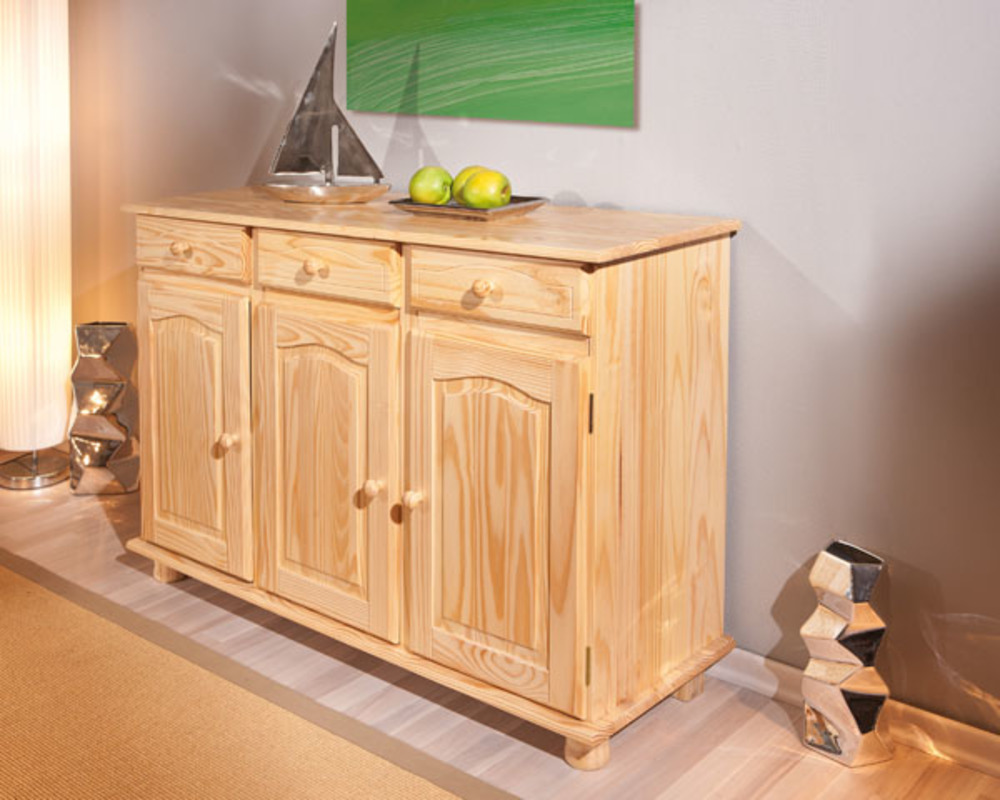 bahut 3 portes abaco pin. Black Bedroom Furniture Sets. Home Design Ideas