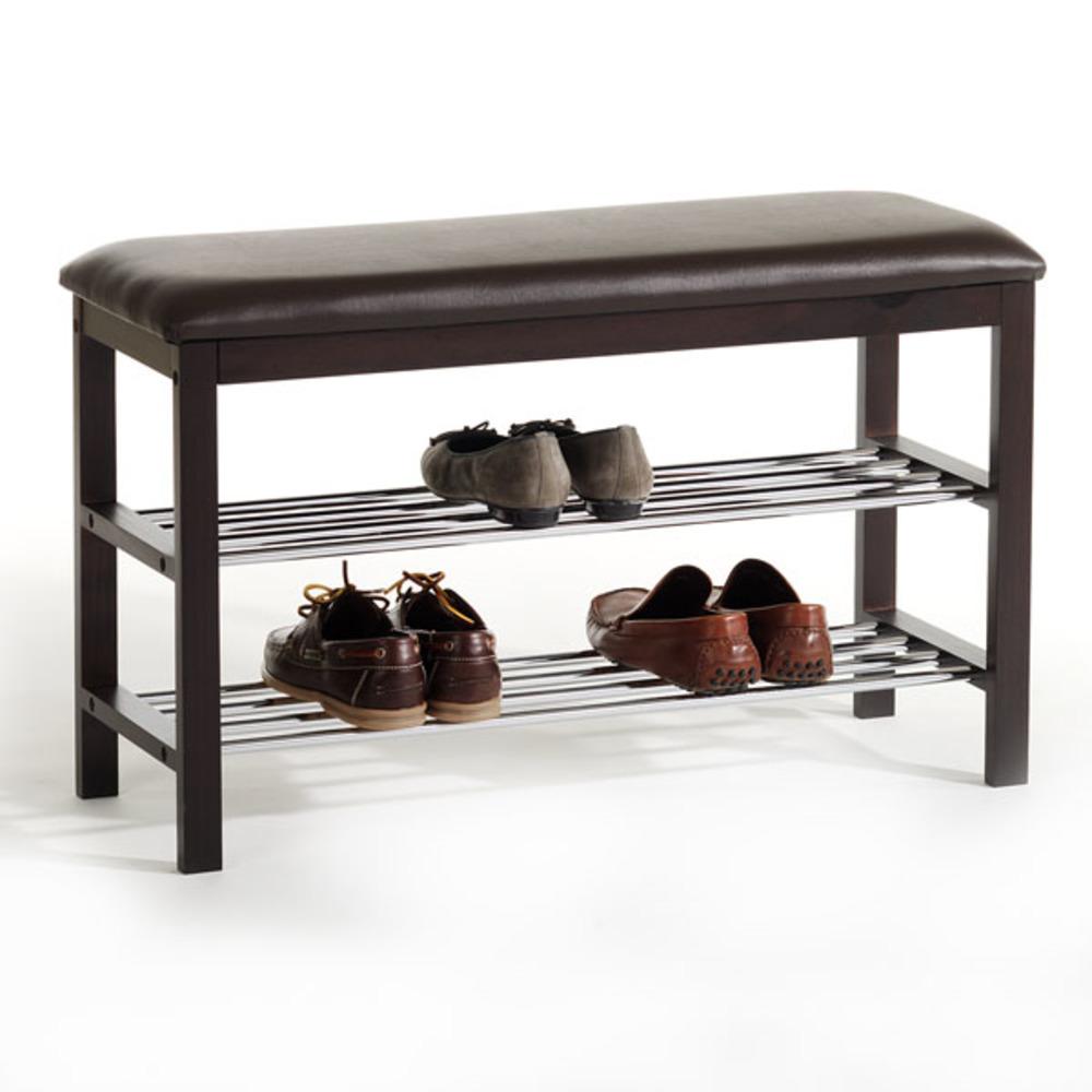 rangement chaussure sana brun. Black Bedroom Furniture Sets. Home Design Ideas