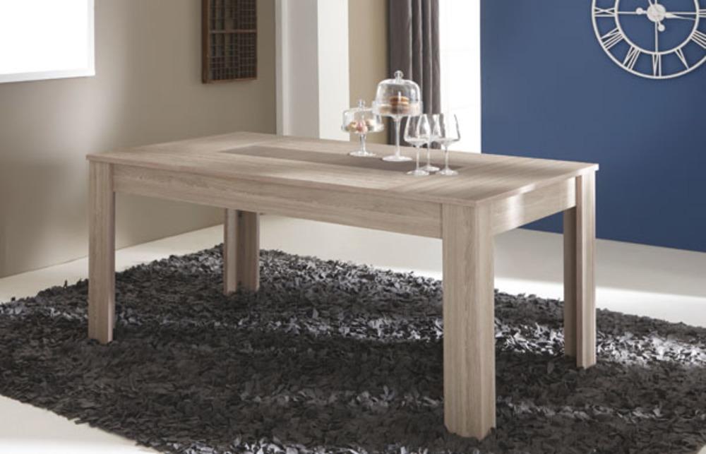 table de repas duchess chene beton clair. Black Bedroom Furniture Sets. Home Design Ideas