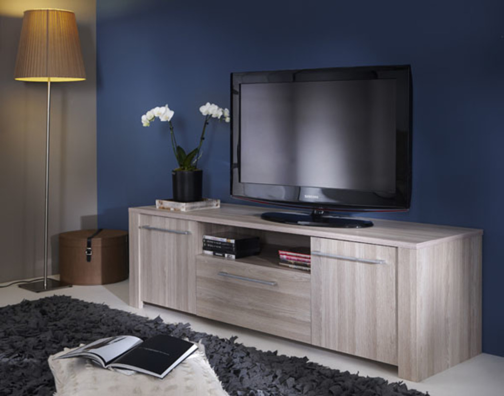 meuble tv duchess chene. Black Bedroom Furniture Sets. Home Design Ideas