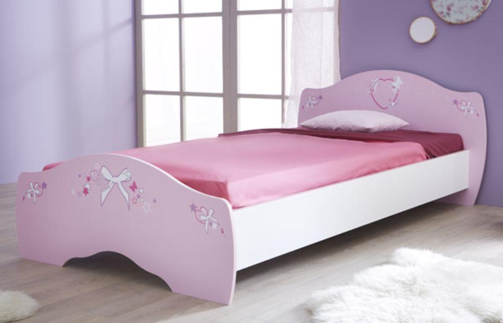 Lit Papillon Rose/Blanc