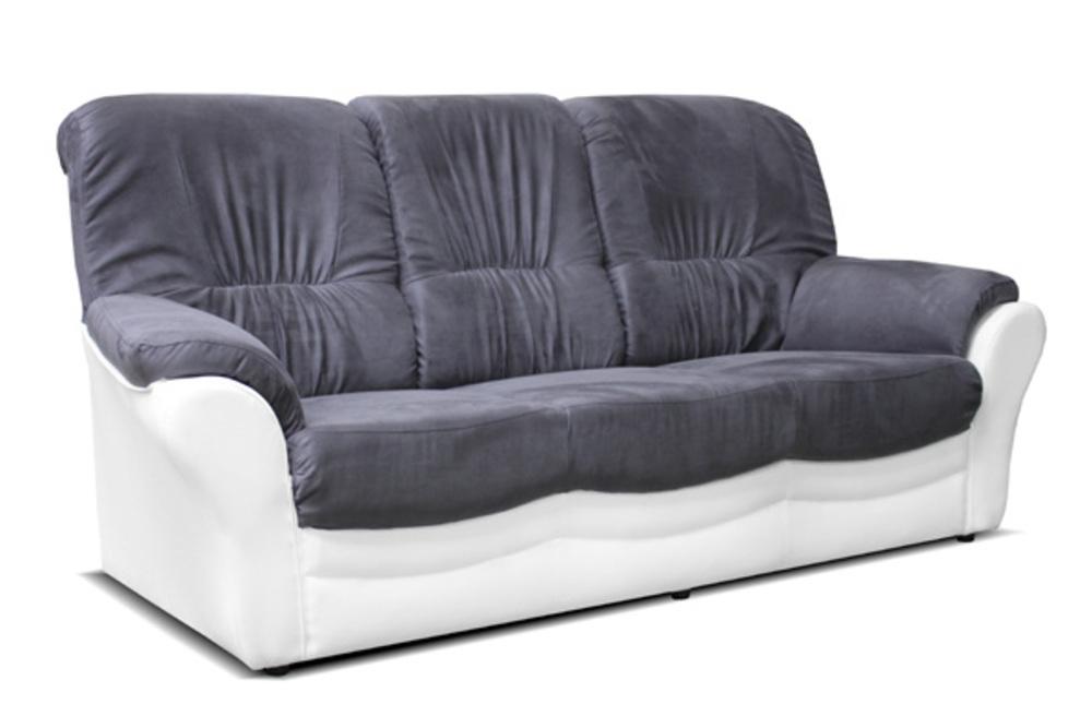 canape 3 places brest blanc gris. Black Bedroom Furniture Sets. Home Design Ideas