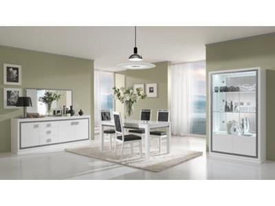 Miroir Thema blanc salle À manger