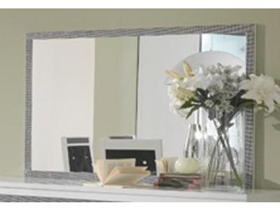 Miroir thema blanc salle manger for Miroir rectangulaire salle a manger