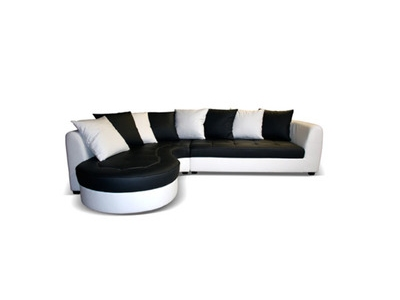 Canape d'angle à gauche Haricot
