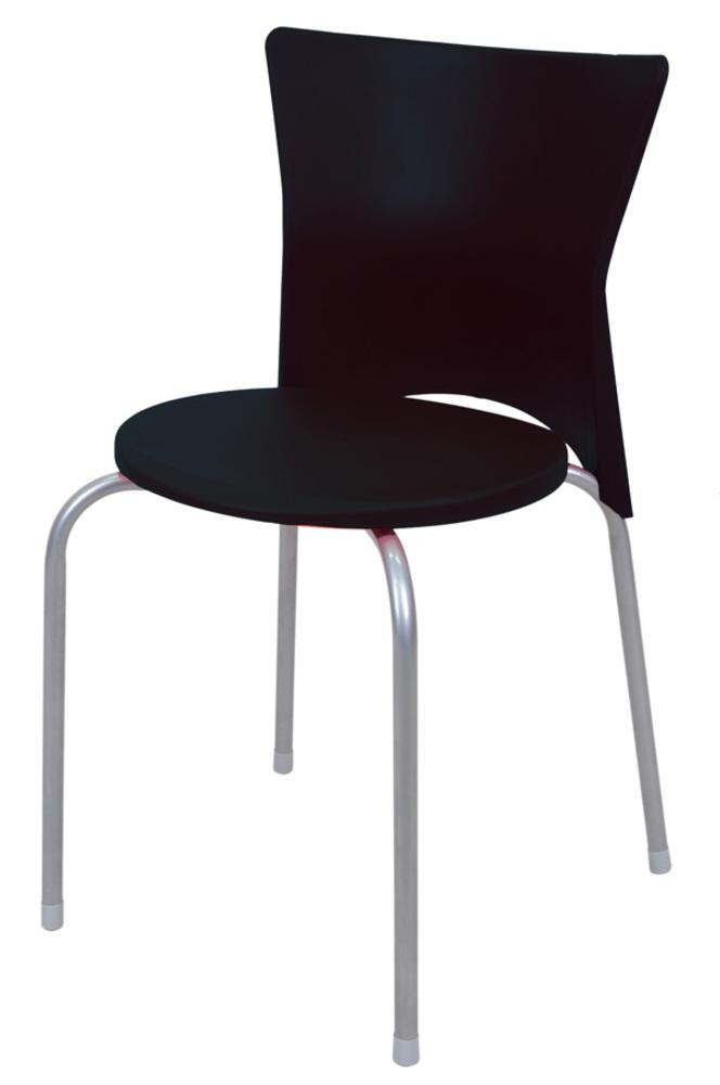 Chaise studio noir for Chaises de sejour salle a manger