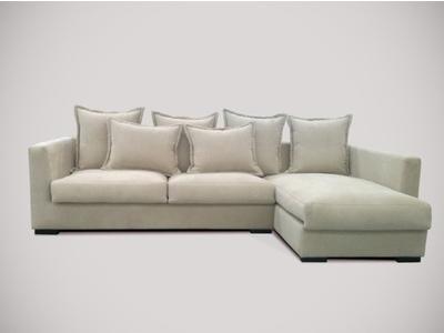 Canapé d'angle à droite Eliot