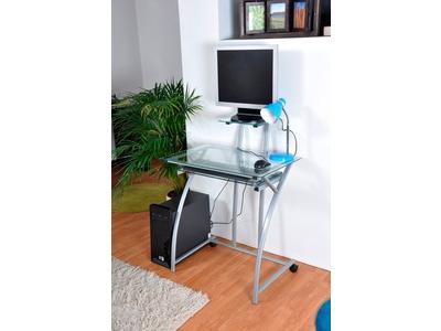 Meuble informatique bureau bureaux en m tal bois - Bureau informatique pas cher ...