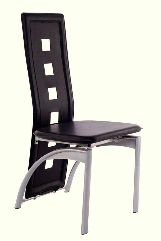 Chaise punch noir for Meuble salle À manger avec chaise noir