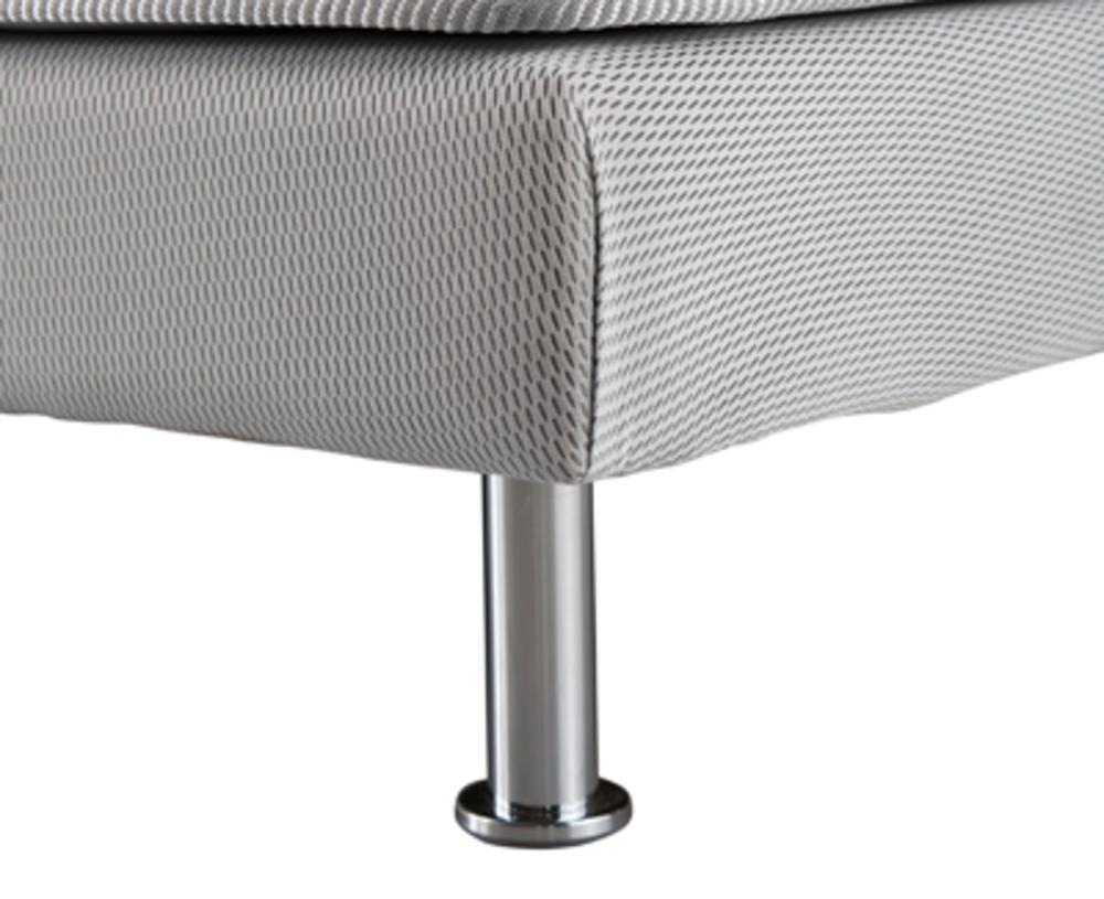 jeu 4 pieds chrom s pour sommier tapissier pieds sommiers. Black Bedroom Furniture Sets. Home Design Ideas