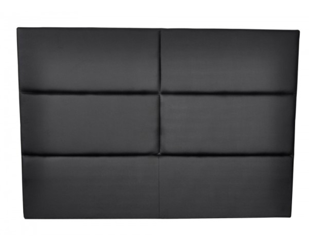 Tete de lit hotel noir for Tete de lit confortable