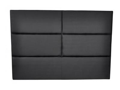 tete de lit hotel noir. Black Bedroom Furniture Sets. Home Design Ideas