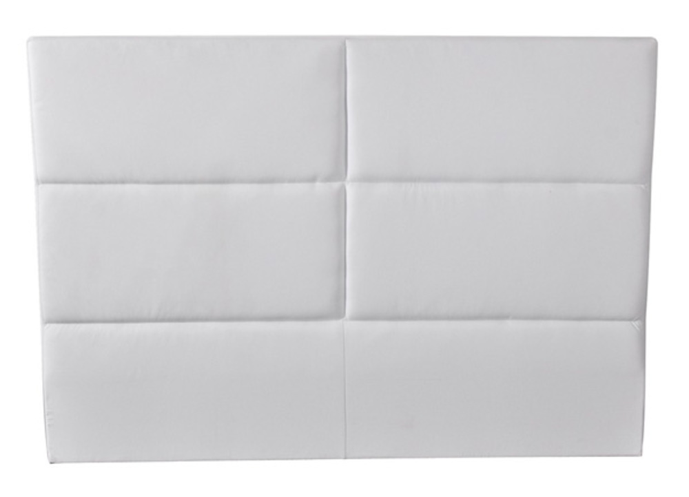 tete de lit hotel blanc