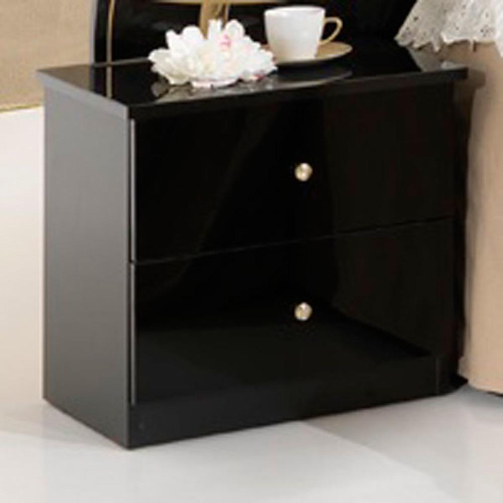 chevet athena chambre a coucher noir. Black Bedroom Furniture Sets. Home Design Ideas