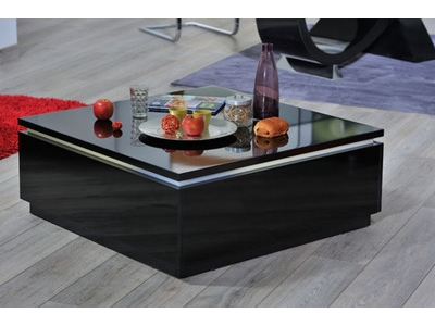Table basse Electra laque noir