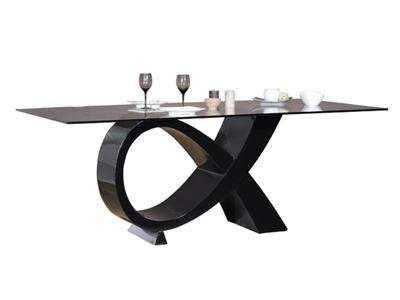 Table de repas Electra laque noir