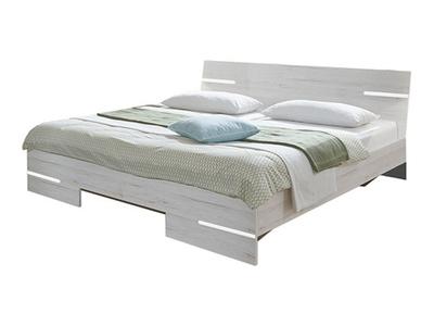 Lit Anna chambre � coucher chene blanc