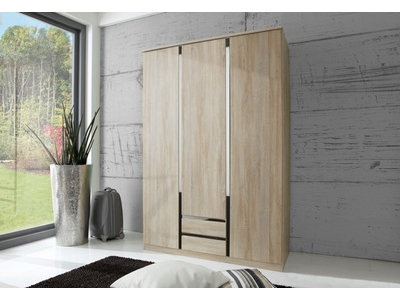 Armoire 3 portes 2 tiroirs Line