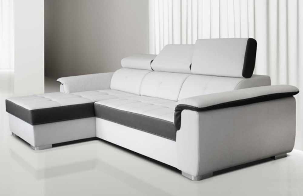 canape d 39 angle gauche aversa. Black Bedroom Furniture Sets. Home Design Ideas