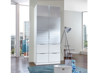 Armoire 2 portes 2 tiroirs Add on f