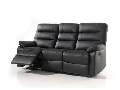 Canapé relax electrique 3 places