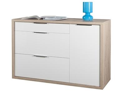 Commode 3 tiroirs+ 1 porte Grazia