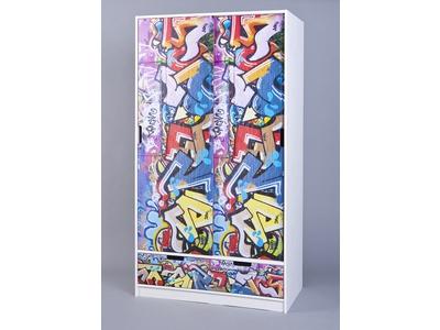 Armoire Kidz grafiti