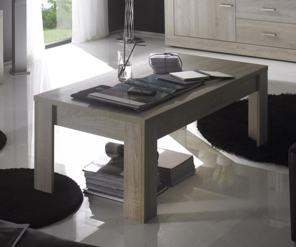 table basse aura chene samoa gris mat. Black Bedroom Furniture Sets. Home Design Ideas