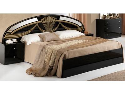 Lit Athena chambre a coucher noir