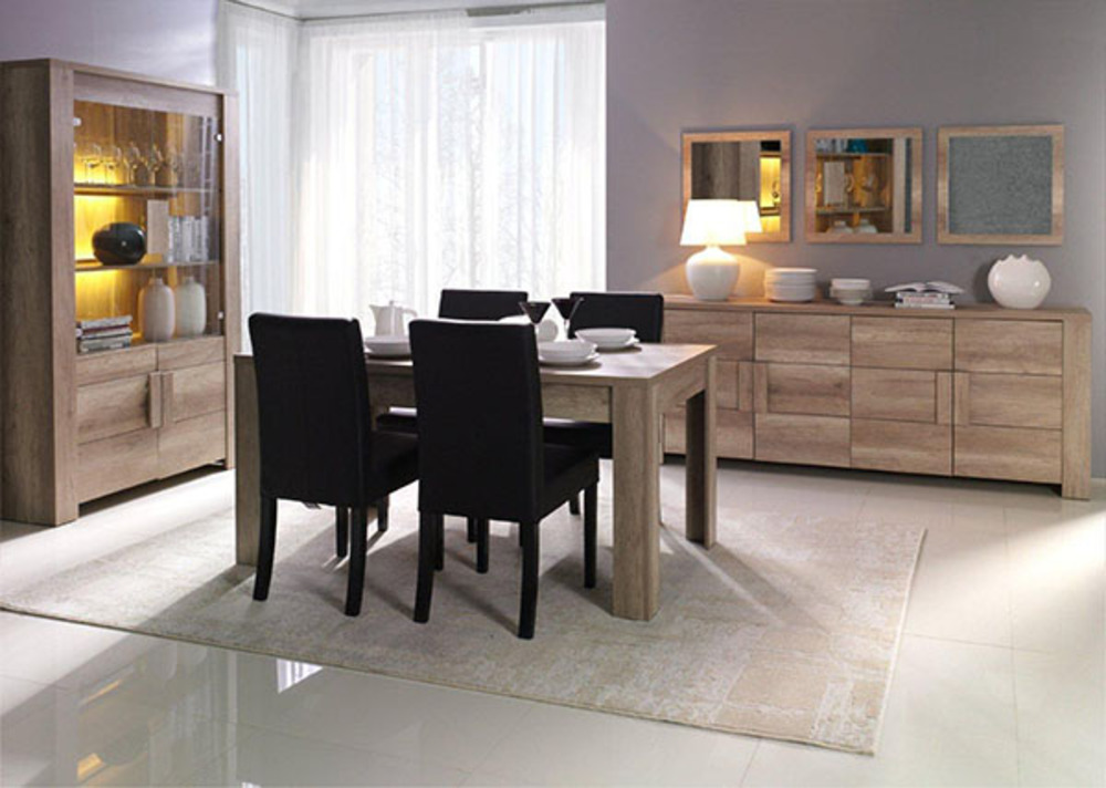 meuble tv ferrara chene canyon. Black Bedroom Furniture Sets. Home Design Ideas