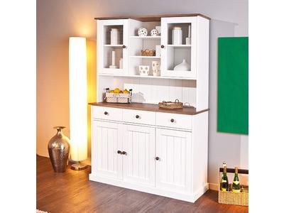 Vaisselier 5 portes 3 tiroirs