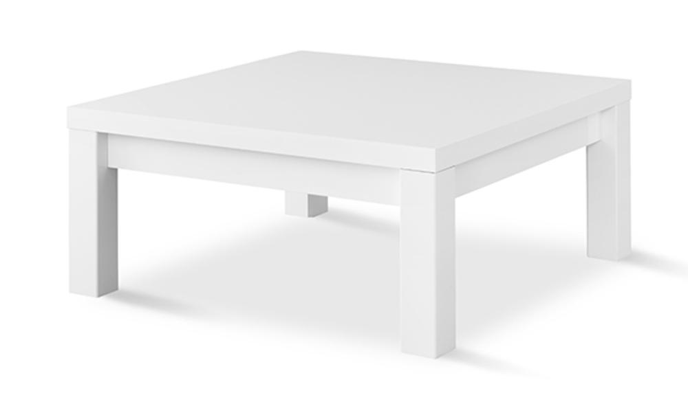 Table basse fano laque blanc blanc brillant l 100 x h 44 x - Table basse laque blanc brillant ...