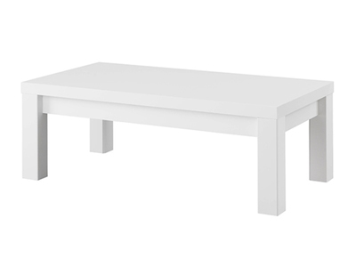 Table basse Fano laque blanc