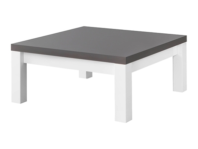 Table basse roma laqu blanc - Table basse gris laque ...