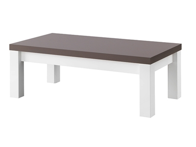 Achat vente table basse table de salon - Table basse laque blanc pas cher ...