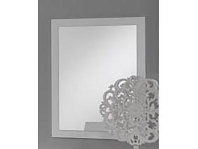 Miroir Ancona laque blanc cac