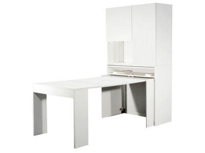 Meuble avec table extensible Genio