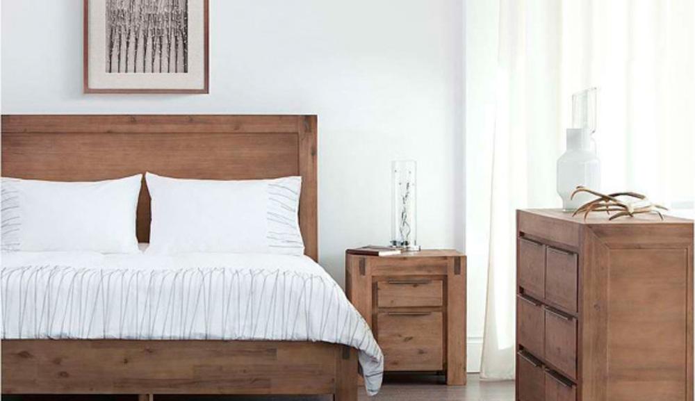 Chevet 2 tiroirs Hamburg 2 chambre a coucher