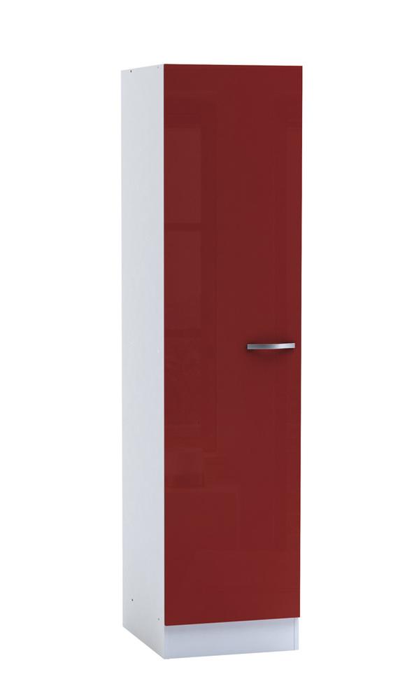 colonne cherry rouge brillant blanc. Black Bedroom Furniture Sets. Home Design Ideas