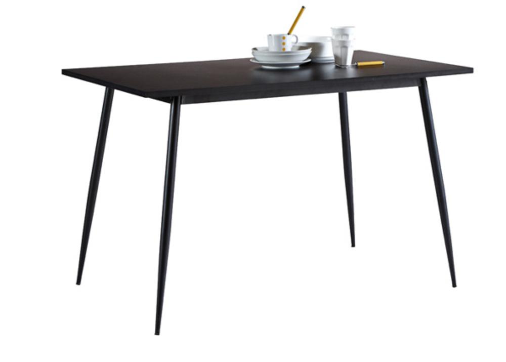 table de cuisine niko noir. Black Bedroom Furniture Sets. Home Design Ideas